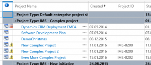 ProsjektID i Project Online - Prosjektsenteret