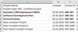 ProsjektID i Project Online