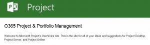 Microsoft UserVoice