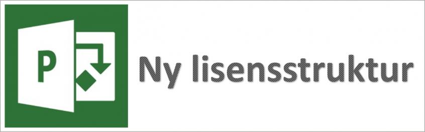 Project Online lisensstruktur